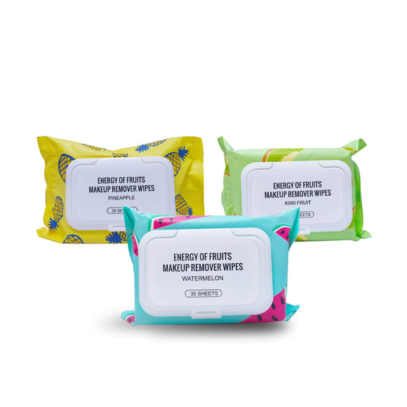 Energy of Fruits Makeup Remover Wipes