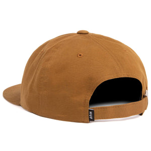Huf 100% Pure 6 Panel Hat Toffee
