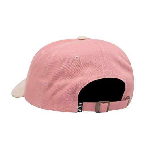 HUF 1993 Curved Visor 6 Panel Mens Cap Coral Pink