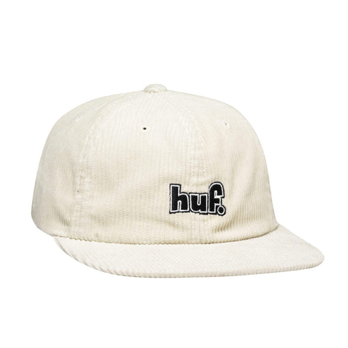Huf 1993 Logo 6 Panel Hat Unbleached