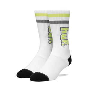 HUF 1993 Stripe Sock Mens Sock White