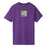 HUF ACID HOUSE BOX LOGO T-SHIRT GRAPE
