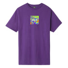 Load image into Gallery viewer, HUF Acid House Box Logo T-Shirt Grape
