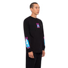 Load image into Gallery viewer, HUF Adult Ent. Long Sleeve T Shirt Mens Ls Tee Black