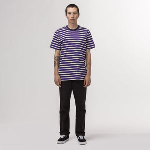 HUF Alex Stripe Shirt Off White
