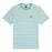 HUF ALLEN SHORT SLEEVE KNIT TOP MENS SS KNITWEAR HARBOR GREY
