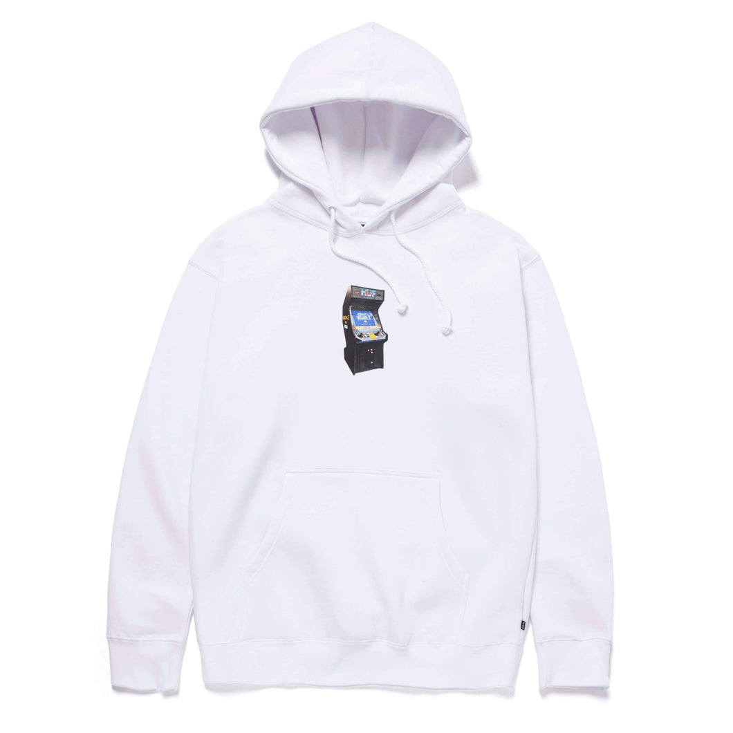 Huf Arcade Pullover Hoodie White