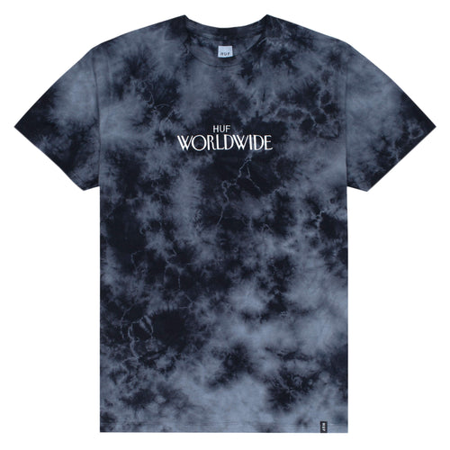 HUF Archive Crystal Wash T-Shirt Black