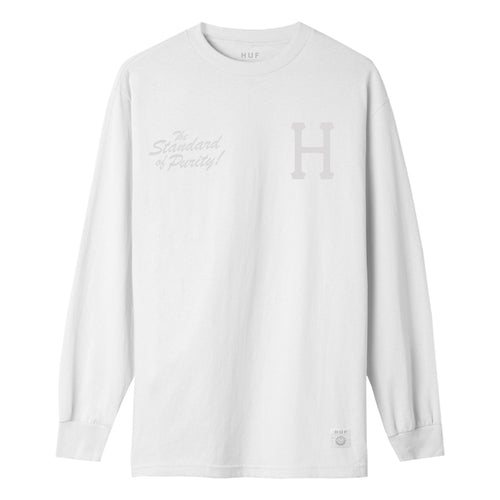 HUF Arm & Hammer Standard Long Sleeve T-Shirt Mens LS Tee White