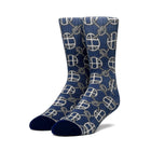 Load image into Gallery viewer, HUF Atelier Sock Mens Sock Navy Blazer