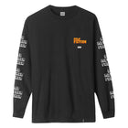 Load image into Gallery viewer, HUF Bad Mother Fucker Long Sleeve T-Shirt Mens Black