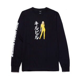 Huf Black Mamba Long Sleeve Tee Black