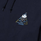 Load image into Gallery viewer, HUF Blvd Triple Triangle Pullover Hoodie French Navy