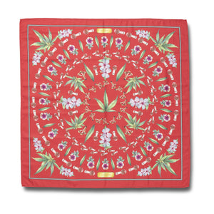 HUF Botanical Garden Bandana Red