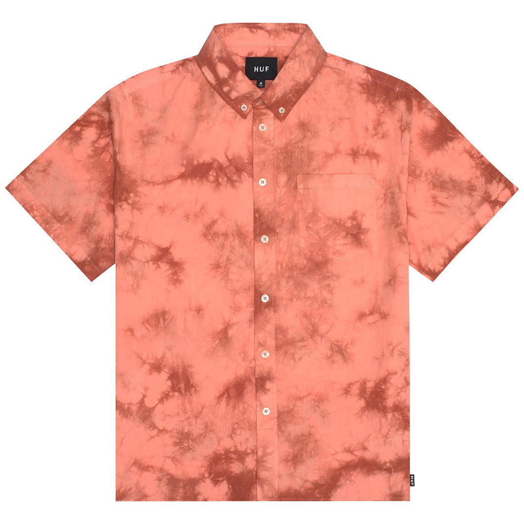 HUF Bowrey Short Sleeve Woven Shirt Canyon Sunset