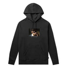 Load image into Gallery viewer, HUF Burger Pullover Hoodie Mens Black