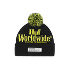 Load image into Gallery viewer, HUF Burn Fast Beanie Mens Beanie Black