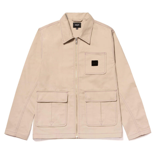 Huf Canyon Jacket Stone