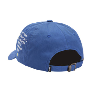 HUF Central Park Cv 6 Panel Hat Olympian Blue