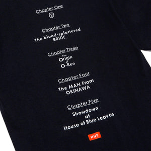 Huf Chapters T-shirt Black