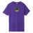 HUF CHROME LOGO T-SHIRT GRAPE