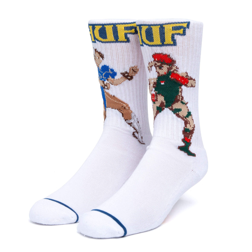 Huf Chun-li & Cammy Sock White