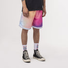 Load image into Gallery viewer, HUF Classic H Reflective Basketball Short Coral Pink