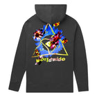 Load image into Gallery viewer, Huf Come Down Triple Triangle Pullover Hoodie Black
