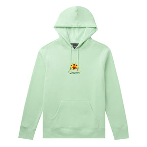 Huf Come Down Triple Triangle Pullover Hoodie Neo Mint