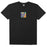 HUF Comics Box Logo T Shirt Mens Tee Black