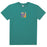 HUF Comics Box Logo T Shirt Mens Tee Quetzal Green