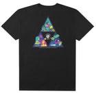 Load image into Gallery viewer, HUF Comics Triple Triangle T Shirt Mens Tee Black
