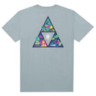 Load image into Gallery viewer, HUF Comics Triple Triangle T Shirt Mens Tee Cloud Blue