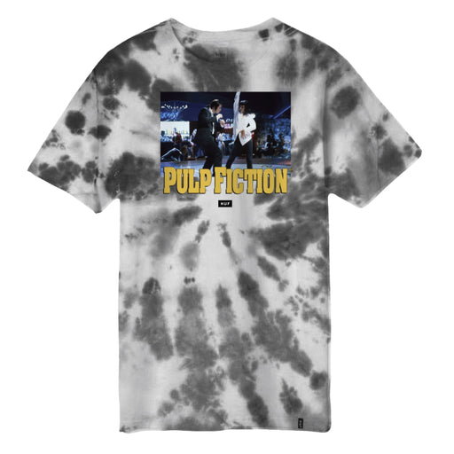 HUF Dance Scene Tie Dye T-Shirt Mens Black