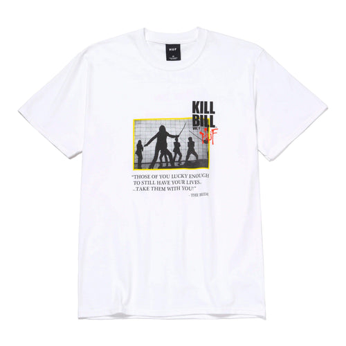 Huf Death List T-shirt White