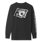Load image into Gallery viewer, HUF Death & Taxes Long Sleeve T-Shirt Black