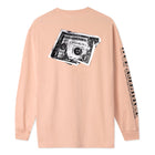 Load image into Gallery viewer, HUF Death & Taxes Long Sleeve T-Shirt Coral Pink