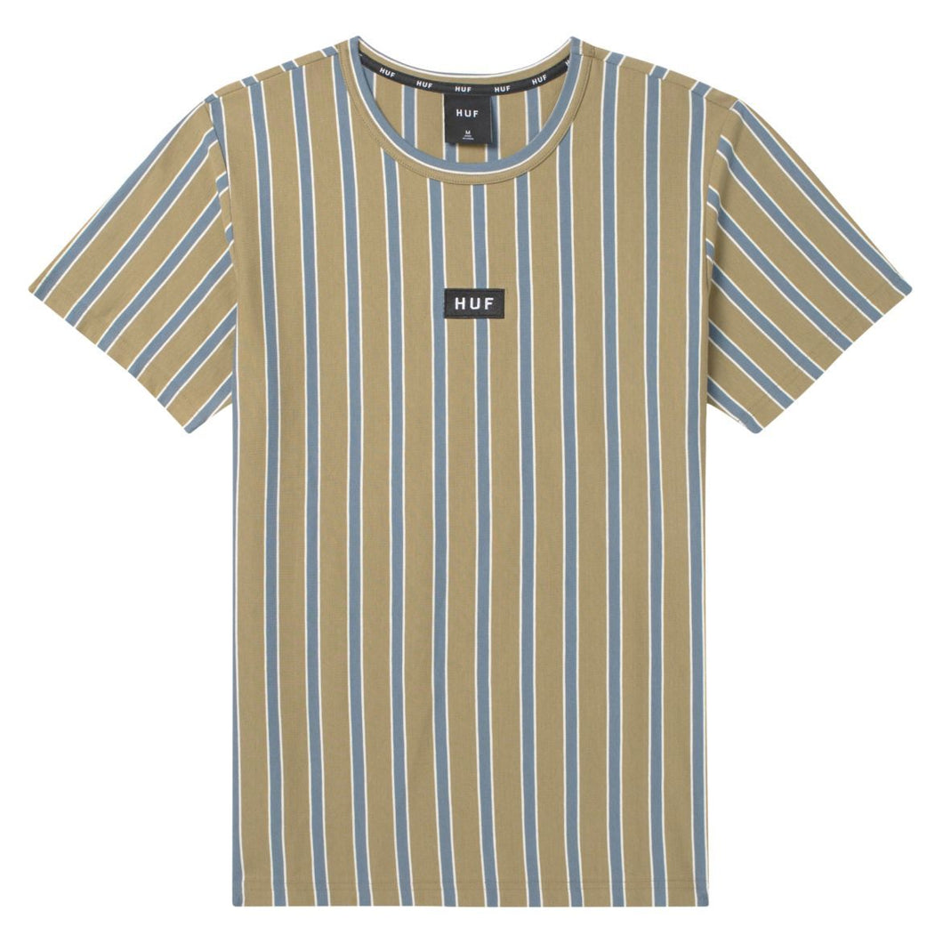 HUF Dexter Stripe Knit Top Dried Herb