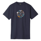 Load image into Gallery viewer, Huf Downward Spiral T-shirt French Navy