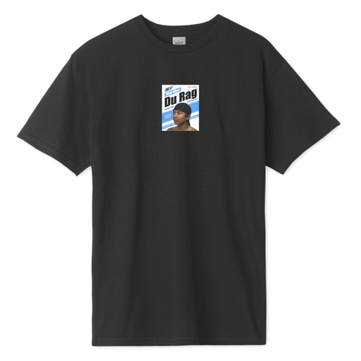 HUF CENTRAL PARK POCKET T-SHIRT BLACK