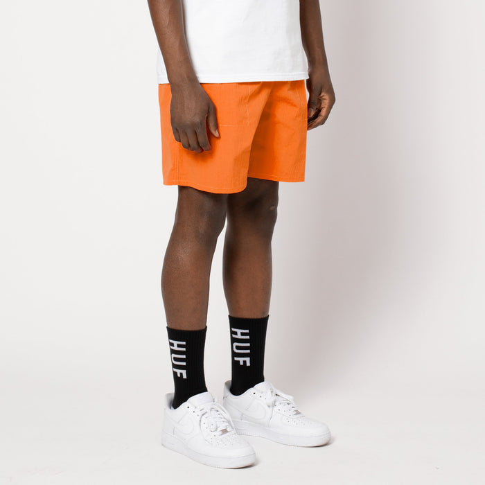 HUF DWR Fuck It Easy Short Persimmon