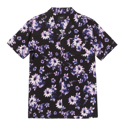 HUF Dazy Resort Shirt Black