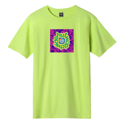 HUF Ecstacy T-Shirt Bio Lime