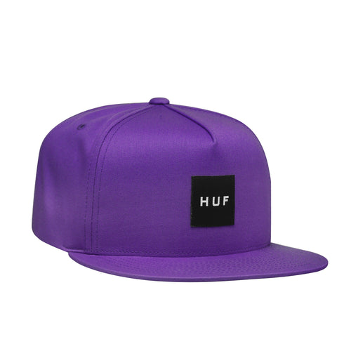 HUF Essentials Box Snapback Mens Cap Grape