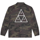 Load image into Gallery viewer, HUF Essentials Triple Triangle Coaches Jacket Mens Jacket Woodland