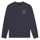 Load image into Gallery viewer, HUF Triple Triangle Crew French Navy