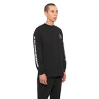 Load image into Gallery viewer, HUF Essentials Triple Triangle Long Sleeve T Shirt Mens Ls Tee Black