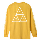 Load image into Gallery viewer, HUF Triple Triangle Long Sleeve T-Shirt Gold
