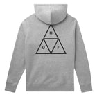 Load image into Gallery viewer, HUF Essentials Triple Triangle Pullover Hoodie Mens Hoodie Grey Heather