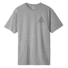 Load image into Gallery viewer, HUF Essentials Triple Triangle T Shirt Mens Tee Grey Heather